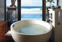 bathing rooms / by Daisy Howard Kimbro