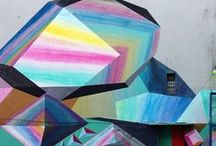+ street art + / by Jane Wunrow