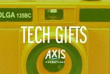 Tech Gifts // Axis  / Axis is an award winning promotional marketing agency, with a knack for branded merchandise.  Say hello: marketing@axispromo.com / by Axis Promo