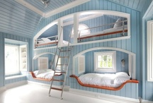 Pretty Bunk Beds-Twin Beds /  and Lots of Beds ! / by Carol Garner
