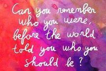 Word Up / quotes / by Zandra Burt