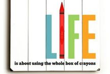 Words: Creativity / Creative Inspirations / by Giorgina Neilson