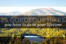the mountains are calling and I must go / places and trails I want to hike or have hiked! :) / by Zandra Burt
