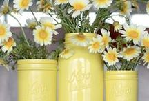 DIY candle holders/vases / by Kelli Jordan