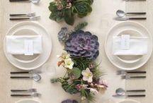 Table Settings/Scapes / by Sarah Leah Avigdori