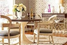 Dining In Style / Dining rooms are about more than meals. It's where you'll make memories and many big decisions. Respect the space and design in style. / by ATGStores.com