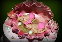 BABY SHOWER CAKES / THESE ARE SOME OF THE MOST AMAZING AND BEAUTIFUL CAKES I HAVE EVER SEEN. / by Rosie Lujan