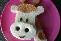 SILLY FOOD FOR KIDS / CREATIVE SILLY FOOD  IDEAS KIDS WILL LOVE / by Rosie Lujan