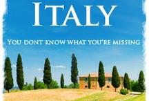 Bell'Italia / Beautiful Italy / by Stephanie Archibald