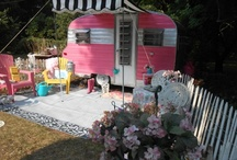 Vintage campers/Travel trailers / by Kim Dillon