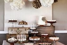 wedding -- candy table  / by Amber Olivier