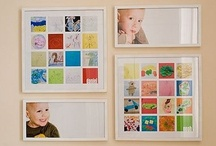 Displaying Kids Art / Inspiration for displaying kids art! / by Jamie [hands on : as we grow]