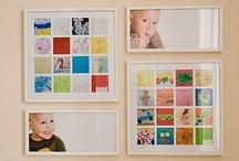 Displaying Kids Art / Inspiration for displaying kids art! / by Jamie Reimer