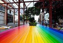 It's all rainbow   / by Vanessa Bennink