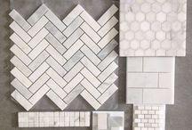 counter tops  + floors + walls / by René Zieg