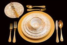 Medusa Gala – Live the Versace Lifestyle / Amaze your guests with the new sumptuous Versace Medusa Gala tableware collection. / by Versace