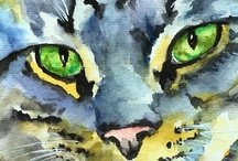 The Artsy Cat / by paige =^..^=