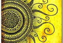 Zentangle/drawings / Doodles, drawing, lettering & Zentangles / by Sandra Anis-Opperman