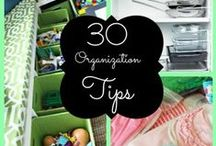 Tips & Tools for Organization / Organization Community Board where we inspire with tips and tools to help you organize your home! #organizationtips #organize #organizationtools / by Organize