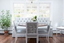 Dining Rooms / by Design Chic-Kristy Woodson Harvey/Beth Woodson