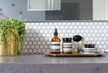 Interiors : Bathrooms and Kitchens / by Caitlin Perry {setsquare studio}