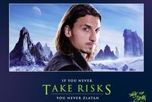 Zlatan / Those who play it safe shall never know the ways of Zlatan.  / by SOCCER.COM