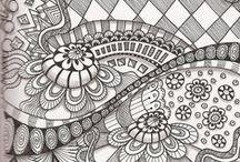 Art Zentangles & Doodles / by Tameria McLain Ailstock
