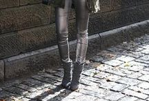 How to wear : Metallics / Outfit inspiration - all things metallic on the street  / by STEELE MyStyle