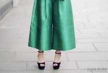 How to wear: Palazzo & Wide-legged pants / by STEELE MyStyle