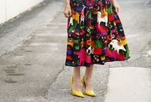 How to wear: Full Midi Skirts / by STEELE MyStyle