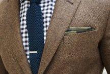 Men's Fashion / by Lindsay Hogan