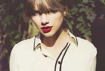 ~ Taylor Swift ~ / pictures of my favorite female singer, idol, and biggest girl crush EVER! :) / by Lindsey Mattson