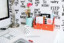 OFFICE / by Florence S. (La Mouette)