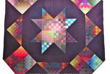 Quilts ~ Traditional & Modern /  ... be still, my heart   :) Beautiful traditional patterns worked in today's bold bright colors...TRADITIONAL MODERN / by Karen deFazio