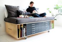 "Compact Living / See my board ""My cabin to be"" for more compact living ideas.  / by Petronella Stenfelt"