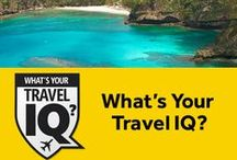 What's Your Travel IQ? / Take the Travel IQ Challenge & test your knowledge of geography and culture! / by Rosetta Stone