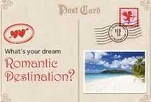Dream Romantic Destinations / Pin your dream romantic destination! Click any pin to vote on your favorite location in our Romantic Getaway app. #ValentinesDay.   / by Rosetta Stone