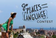 Go Places With Language Contest / Have you always wanted to learn a language? Or have you learned a language with Rosetta Stone?  We want to hear from you. Share your story with us at http://www.rosettastone.com/lp/video-contest. By uploading a video, you'll enter our contest for a chance to win prizes including $2500 to fund the dream of a lifetime! / by Rosetta Stone