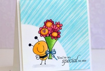Lil Bee's Big Flowers / by AnnaBelle Stamps