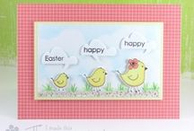 Easter Chickadee / by AnnaBelle Stamps