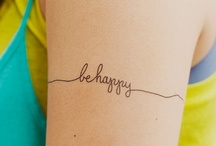ink love  / by Ally MacEwen