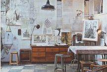 Artists studios / by Brigitte Marlot