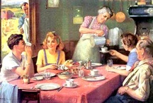 Grandma's Table-Meat & Game / Dinner is about more than just food.  It is about love and family.  A simple meal set on the family table with love is the cornerstone of family life. / by countrywisdom :)