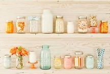 Mason jars / by Leanna Majors