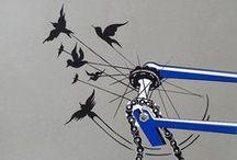 :.:BicycO:.: / Bicycles, Bikes, Custom Bikes, Antique Bikes, Bicycle Posters / by Susan P