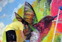 .art on the street. / Urban Street Art and Graffiti / by Susan P