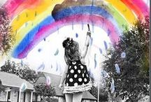Somewhere Over the Rainbow / by Creative Wonders