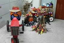 Pumpkin Decorating Contest / Deaconess Pumpkin Decorating Contest 2012. / by Deaconess Health System