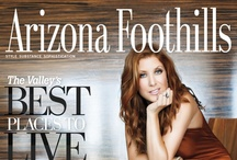 Arizona Foothills Magazine Covers / by AZFoothills.com