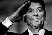"""""""Dutch"""" Ronald Reagan / by Jan Hunsche"""